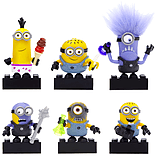 Mega Bloks Despicable Me Minions Series 1 Figure - Steve (Purple Evil Minion) screen shot 2