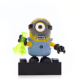 Mega Bloks Despicable Me Minions Series 1 Figure - Stuart (Chemical Explosion) screen shot 1