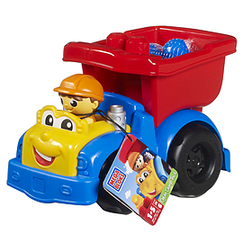 Mega Bloks Dylan Dump Truck Blocks and Bricks