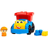 Mega Bloks Dylan Dump Truck screen shot 2