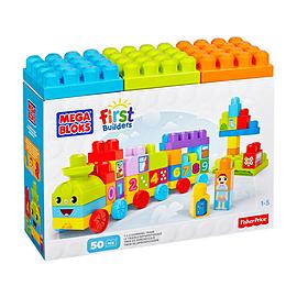 Mega Bloks First Builders 123 Learning Train Blocks and Bricks