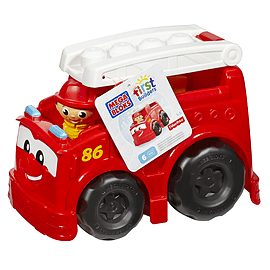 Mega Bloks First Builders Freddy Firetruck Blocks and Bricks