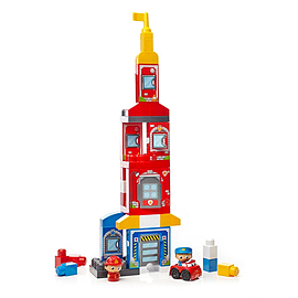 Mega Bloks First Builders Rescue Squad Building Set Blocks and Bricks