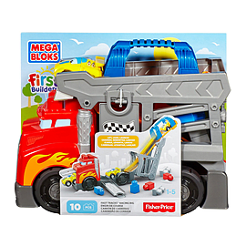 Mega Bloks First Builders Smash-n-Crash Rig Toy Blocks and Bricks