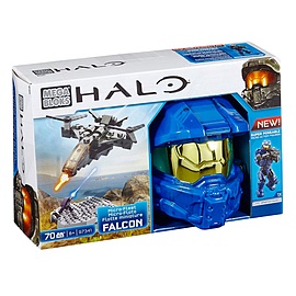 Mega Bloks Halo Micro-Fleet Falcon Conquest Blocks and Bricks