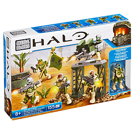 Mega Bloks Halo UNSC Sierra Squad Building Kit Blocks and Bricks