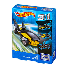 Mega Bloks Hot Wheels 3 in 1 Sting Shot Blocks and Bricks