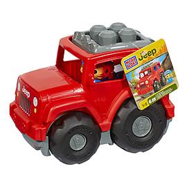 Mega Bloks Jeep - Lil' Off Roader Blocks and Bricks