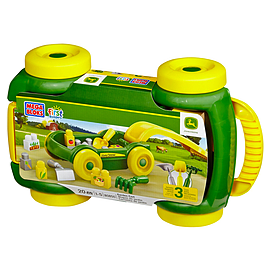 Mega Bloks John Deere Garden Cart Blocks and Bricks