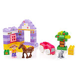 Mega Bloks Junior Builders Themed Mini Building Box (Pony) screen shot 2