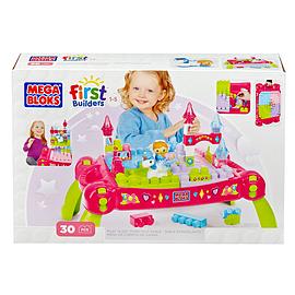 Mega Bloks Lil Princess Play-n-Go Fairytale Table Blocks and Bricks