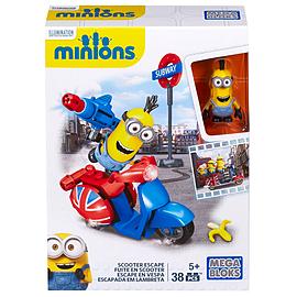 Mega Bloks Minions Small Playset - Scooter Escape Blocks and Bricks