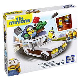 Mega Bloks Minions Station Wagon Getaway Blocks and Bricks