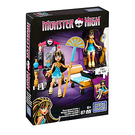 Mega Bloks Monster High Cleo's Gore-geous Vanity Playset Blocks and Bricks
