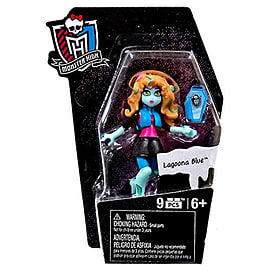 Mega Bloks Monster High Ghouls Skullection Lagoona Blue Mini Figure Blocks and Bricks