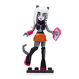 Mega Bloks Monster High Ghouls Skullection Meowlody Mini Figure screen shot 2