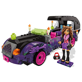 Mega Bloks Monster High Monster Moviemobile Building Set Blocks and Bricks