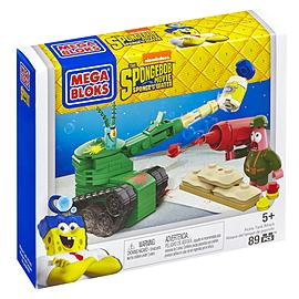 Mega Bloks SpongeBob Square Pants Movie Plankton Tank Building Set Blocks and Bricks