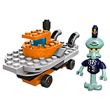 Mega Bloks Spongebob Square Pants Squidward Racer Building Set screen shot 2
