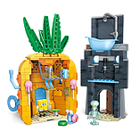 Mega Bloks SpongeBob SquarePants Bad Neighbors Playset screen shot 2
