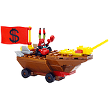 Mega Bloks SpongeBob Squarepants Mr. Krabs Racer Building Kit screen shot 2