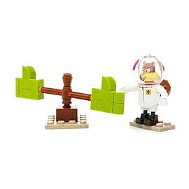 Mega Bloks SpongeBob SquarePants Sandy Wacky Pack Blocks and Bricks