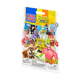Mega Bloks Spongebob Squarepants Series 2 Minifigures Mystery Pack Blocks and Bricks