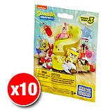 Mega Bloks Spongebob Squarepants Series 3 Minifigures Mystery Bag (x10 Packs) screen shot 1