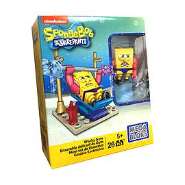Mega Bloks SpongeBob SquarePants Wacky Gym Set Blocks and Bricks