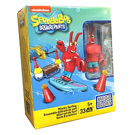 Mega Bloks SpongeBob SquarePants Wacky Surfing Set Blocks and Bricks