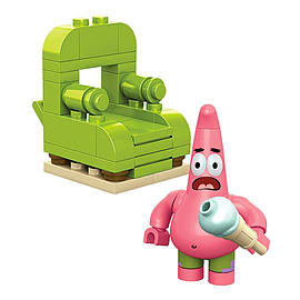 Mega Bloks SpongeBob's Patrick Wacky Pack Blocks and Bricks