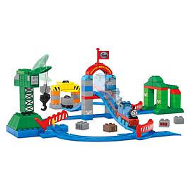Mega Bloks Thomas & Friends Brendam Docks Deluxe Starter Set Blocks and Bricks