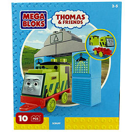 Mega Bloks Thomas & Friends Buildable Engine Set - Scruff Blocks and Bricks