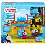 Mega Bloks Thomas & Friends Thomas & Stephen Playset (Castle Gates) screen shot 1