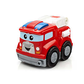 Mega Bloks Tiny N Tuff Buildables Firefighting Freddy Fire Truck Blocks and Bricks