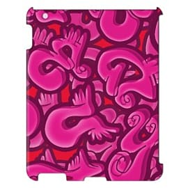 iPad 4 case Wings_pink By Artista Tablet