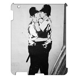 iPad 4 case Coppers By Banksy Tablet