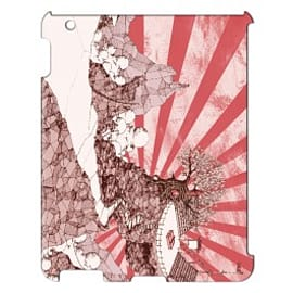 iPad 4 case Ping Pong Land By Dan Stevenson Tablet