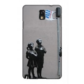 Samsung Galaxy Note 3 Case Very Little Helps By Banksy Mobile phones