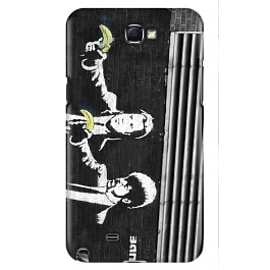 Samsung Galaxy Note 2 Case Pulp Fiction By Banksy Mobile phones