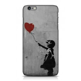 iPhone 6 Plus Case Girl And The Red Balloon By Banksy Mobile phones