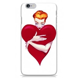 iPhone 6 Case Heart Pinup - By Fernando Vicente Mobile phones