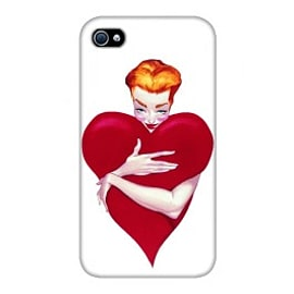 iPhone 4/4S Case Heart Pinup - By Fernando Vicente Mobile phones