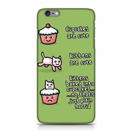 iPhone 6 Plus Case Cakes Cats Wrappz By Genki Gear Mobile phones