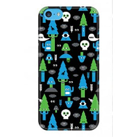 iPhone 5C Case Bad Forest A3 By Greg Straight Mobile phones