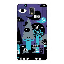 Samsung Galaxy Note 3 Case Freaky Forest A3 By Greg Straight Mobile phones
