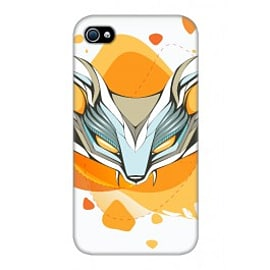 iPhone 4/4S Case Wolf Mask By Ivelina Kirilova Mobile phones