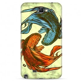 Samsung Galaxy Note 2 Case Siamese Fight By James Fosdike Mobile phones