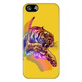 iPhone 5/5s Case Rainbow Tiger By James Fosdike Mobile phones
