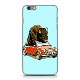 iPhone 6 Plus Case Bison In Mini By James Fosdike Mobile phones